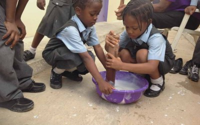 Class activity with pupils