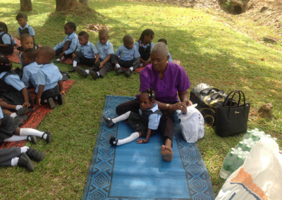 picnic with the pupils